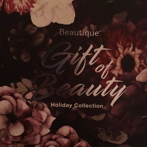 Beautique Gift of beauty Holiday collection makeup